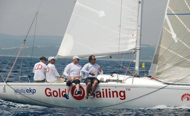 El J80 Gold Sailing gana la Spi Ouest-France 2017
