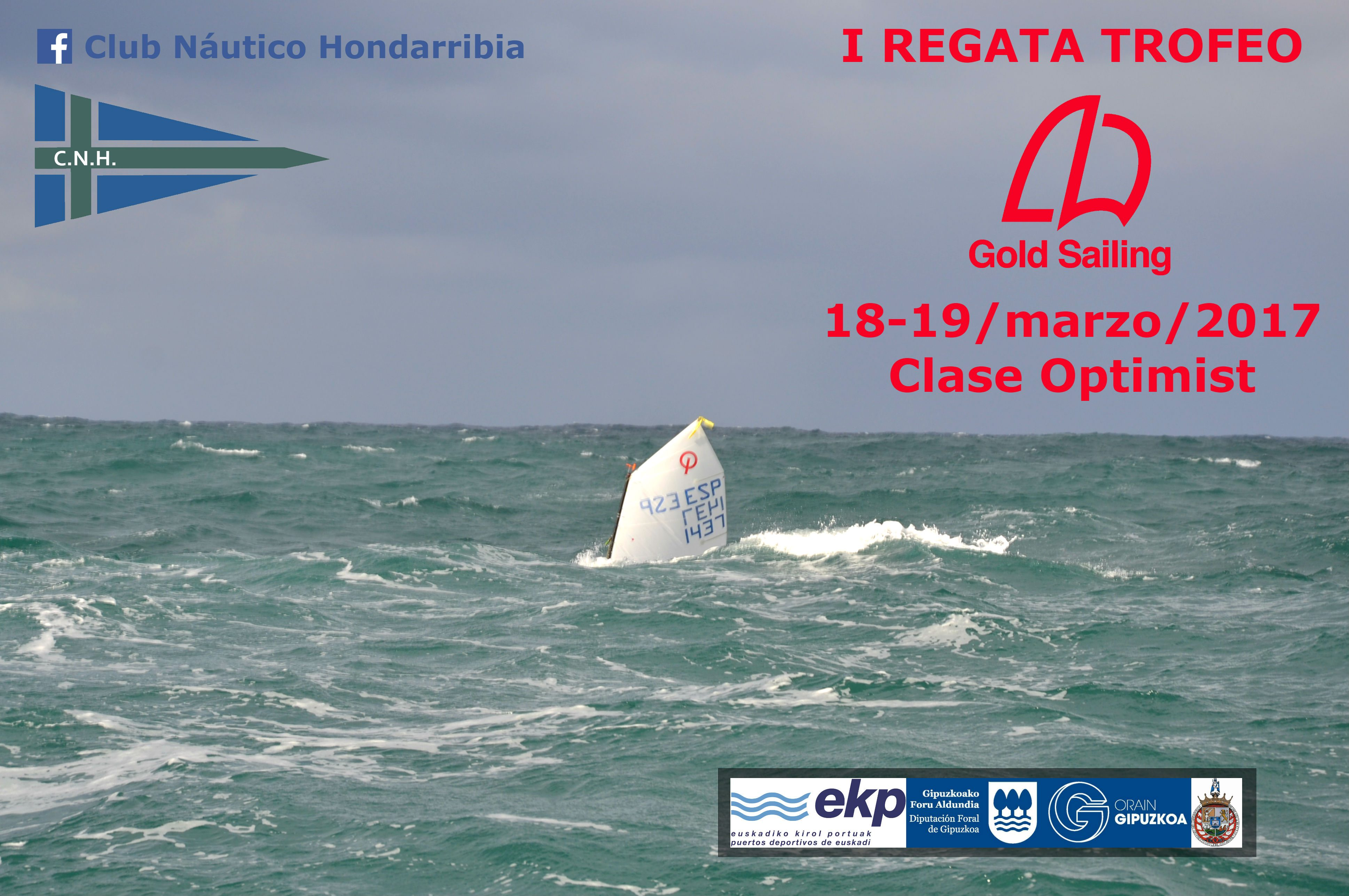 "I Regata ""GOLD SAILING"" Clase Optimist"
