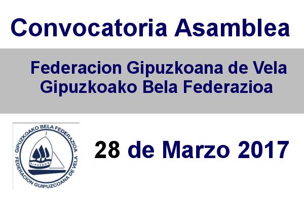 Convocatoria Asamblea Gipuzkoana