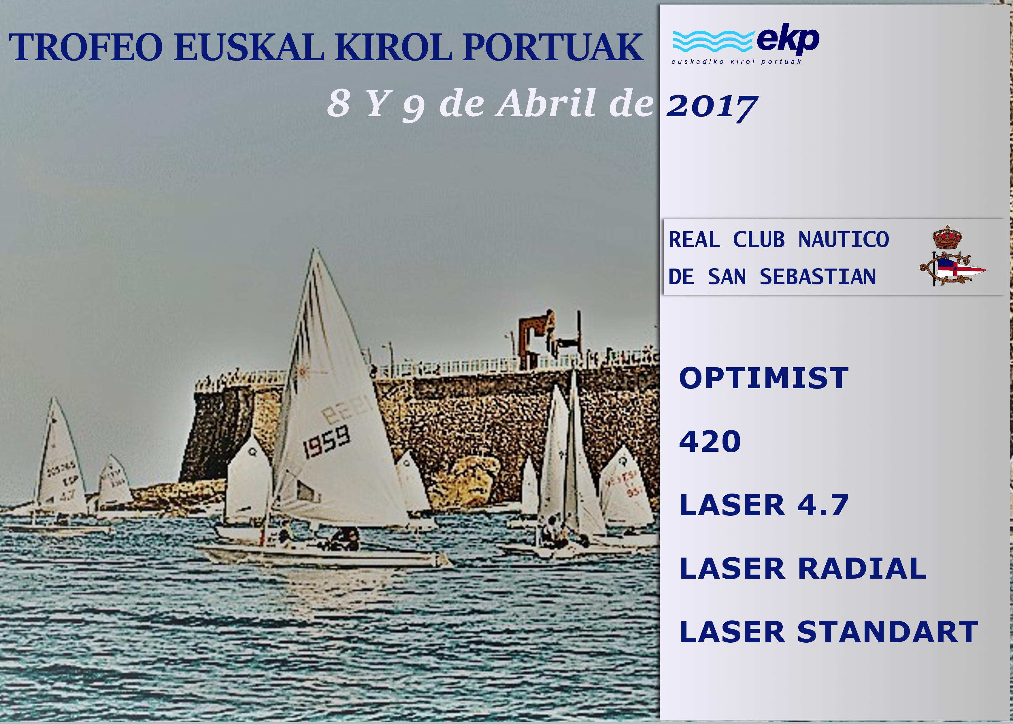 TROFEO EUSKAL KIROL PORTUA CLASIFICACIONES