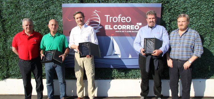 'Akelarre', 'Nexus' y 'Mandovi' ganan en el Abra el IV Trofeo El Correo