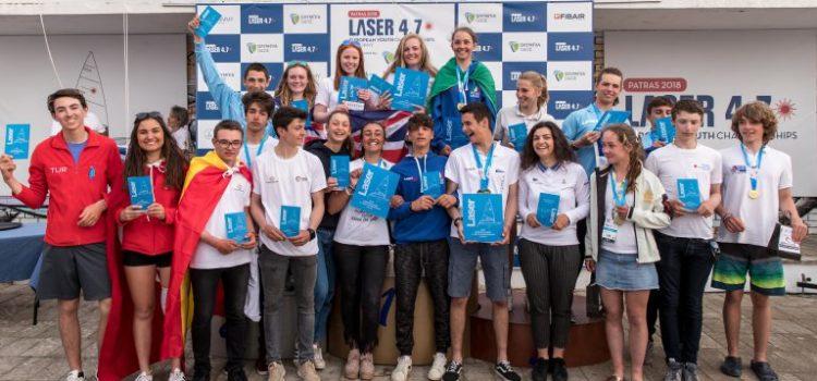 JAVIER AMONDARAIN 5º en Laser 4.7 Youth European Championship 2018