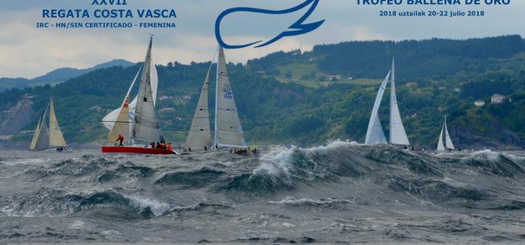 "XXVII Regata Costa Vasca ""Trofeo Ballena de Oro"""