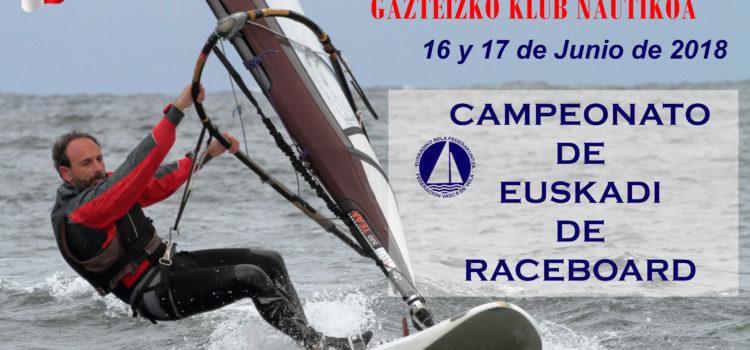 Campeonato de Euskadi de Raceboard.