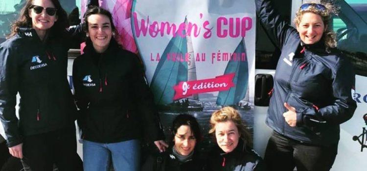 La tripulación vasca de J80 DECOEXSA en la 9ª Women's Cup
