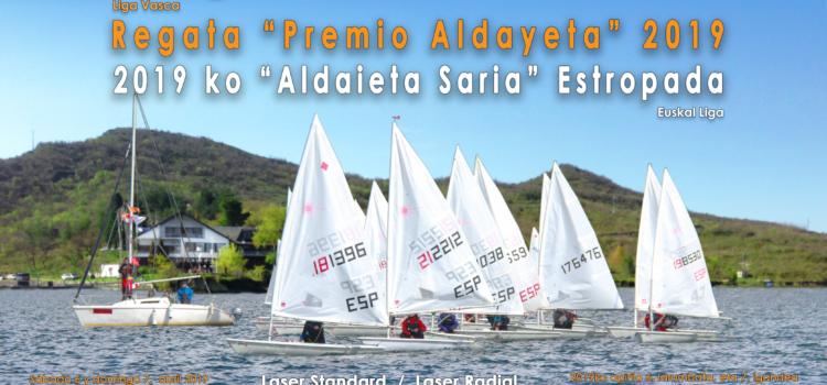 """Regata """"Premio Aldayeta 2019"""" Más información haciendo click en la foto."""