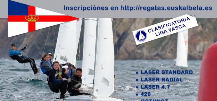 Trofeo Real Club Náutico de San Sebastián  26 y 27 de Octubre de 2019   420 ● RS FEVA ● OPTIMIST ● LASER STANDARD ● LASER RADIAL ● LASER 4.7