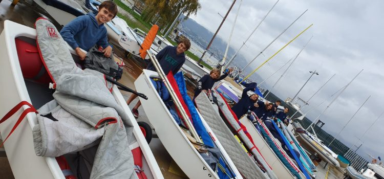 EQUIPO VASCO EN EL MEETING INTERNACIONAL DE OPTIMIST CIUDAD DE VIGO EXCELLENT CUP 2019-2020