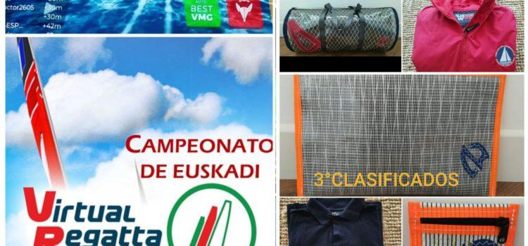 Campeonato de Euskadi de vela virtual.  Crónica y resultados.