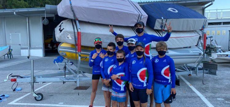 El equipo vasco de Optimist a Murcia