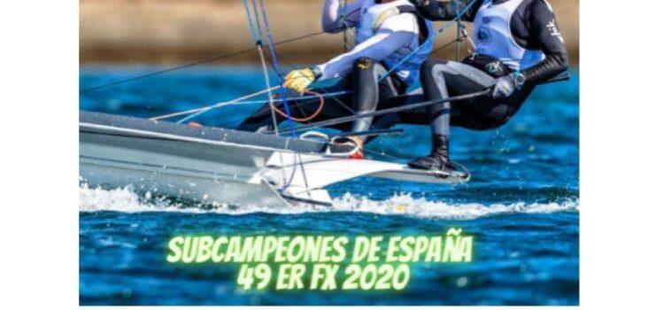 Jaime Framis (CNH), Subcampeón de España de 49er fx.